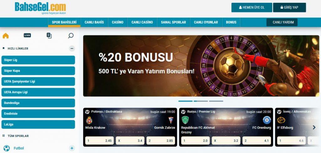 Bahsegel - güncel site ve oyuncular için bonuslar
